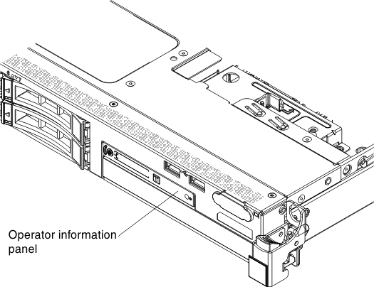 Operator Information Panel